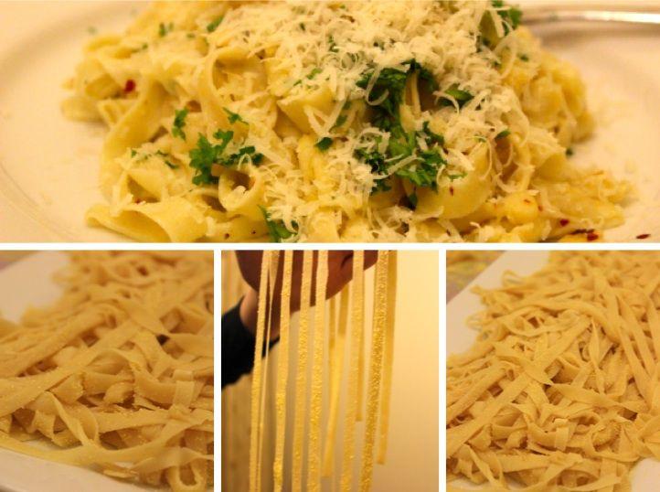 Tagliatelle Aglio e Olio e Peperoncino Recipe - Food Blogs UK