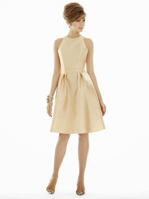 Bonitos vestidos para damas de honor | Vestidos para damas 2015