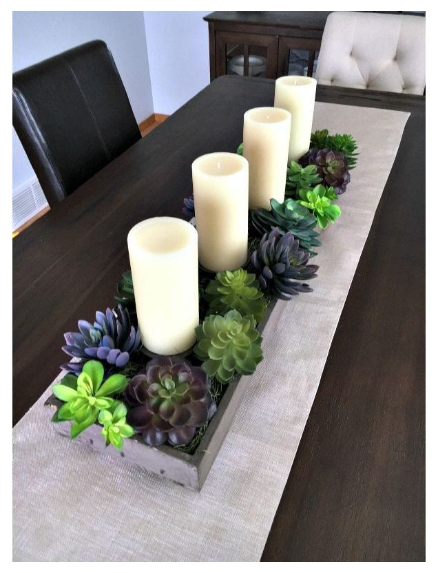 Pin By Shari G On Home Ideas Dining Room Table Centerpieces Kitchen Table Decor Kitchen Table Centerpiece
