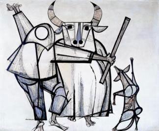 Bumba meu Boi, 1962 - Aldemir Martins   MASP - Museu de Arte de São Paulo