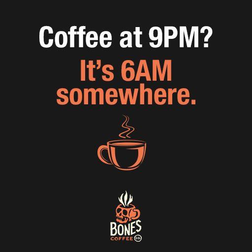 Right?!? #coffee #irishcream bonescoffee.com never stop drinking