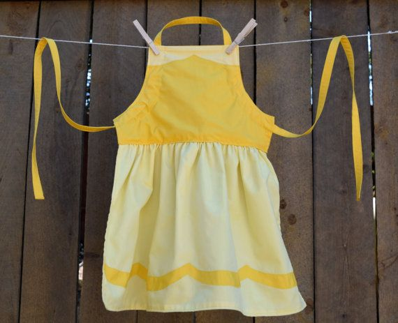 Belle Dress Up Adult Apron    Basic or by OfMiceAndElves on Etsy