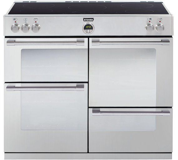 Buy Stoves Sterling 1000Ei Induction Range Cooker - S/Steel at Argos.co.uk - Your Online Shop for Range cookers, Cooking, Large kitchen appliances, Home and garden.