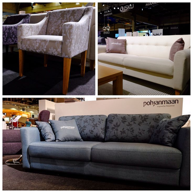 Most comfortable sofas and elegant tables & chairs in Habitare 2014 by Pohjanmaan craftmanship!