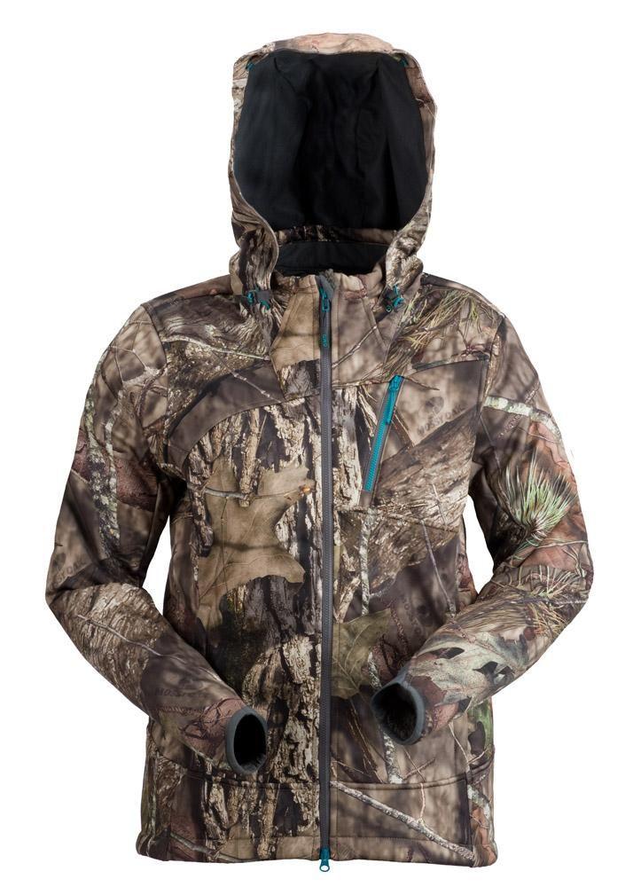 e2b65c73fe61f Women's Hunting Apparel. Plus Size Artemis 3 Layer Softshell Jacket - Mossy  Oak Country