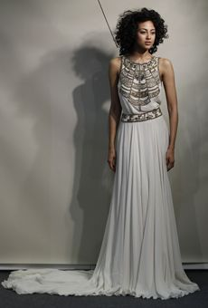 Brides: Amanda Wakeley - Spring 2013 | Bridal Runway Shows | Wedding Dresses and Style | Brides.com