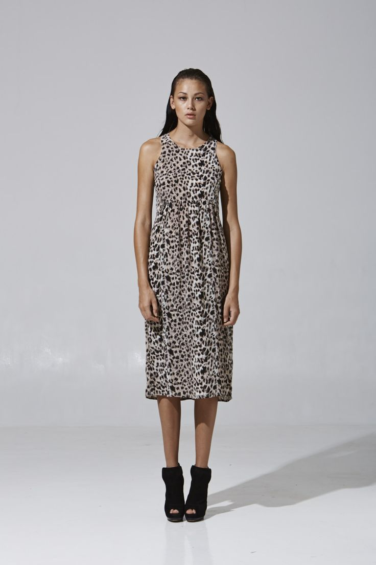Leopard Day Dress | Party collection 2013