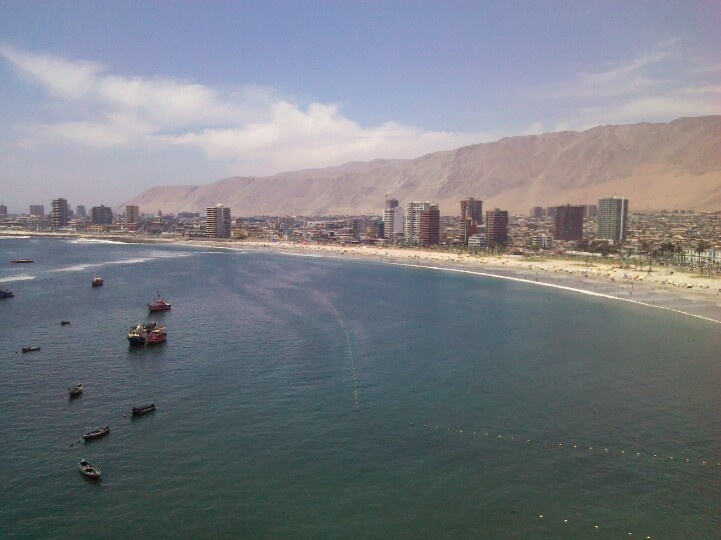 Playa cavanncha iquique,chile