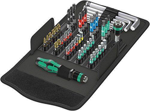 Wera Werkzeug-Set, Kraftform Kompakt 100, 52-teilig, 05057460001 [GERMANY] EUR 59,41