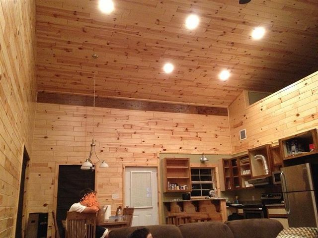 One Man + $80,000 = This Awesome 30 x 56 Metal Pole Barn Home! (25 Pics)   Metal Building Homes