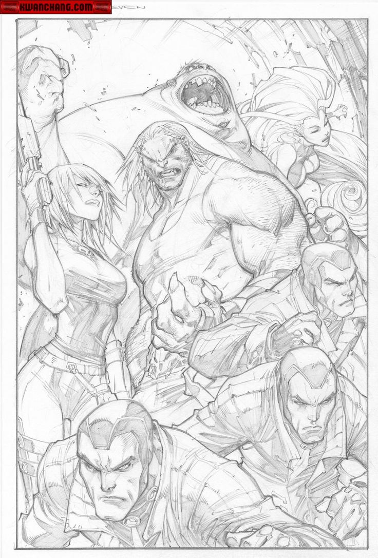 Kwan Chang :: For Sale Artwork :: Ultimates 3 # 2 by artist Joe Madureira