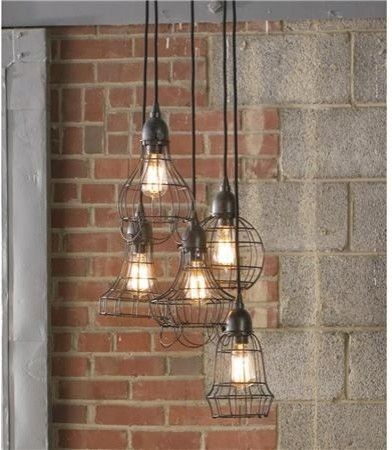 Industrial Chic lighting