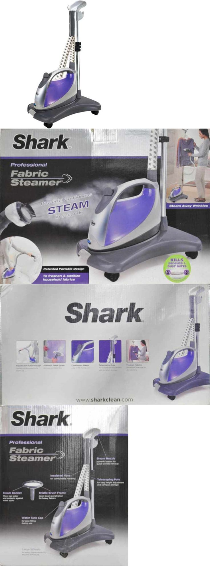 Garment Steamers 43514: Shark Garment Stand Fabric Steamer Portable Steam Clothes Wrinkles Gs300 New Usa -> BUY IT NOW ONLY: $62.81 on eBay!