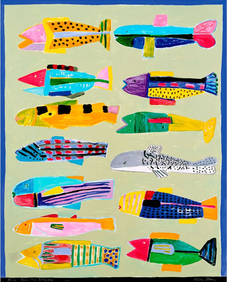 Ken Done - shop / limited prints / fish-from-the-amazon-2003