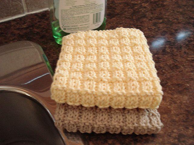 377 Best Knitting Dishcloths Images On Pinterest Hot Pads