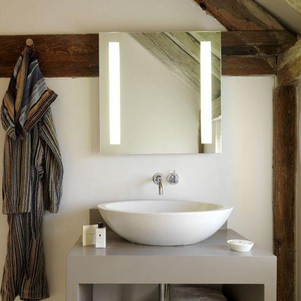 Die besten 25+ Badezimmerspiegel beleuchtet Ideen auf Pinterest - modernes badezimmer designer badspiegel