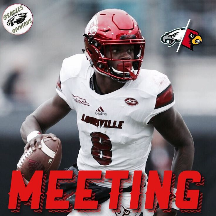 The Eagles have met with QB Lamar Jackson during the 2018 NFL Combine in Indianapolis. We most likely asked him to play WR which he already said he would decline so nonetheless this was probably a very short meeting with a very very small chance of us drafting him. _______________________________________________________ [Tags]       [#eagles] [#eaglesgameday] [#flyeaglesfly] [#eaglestillidie] [#eaglespride] [#eagles4life] [#eaglesallday] [#eaglesgirl] [#eaglesteam] [#Philadelphia]…