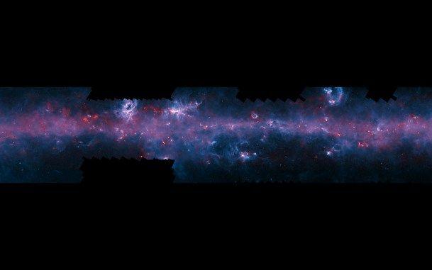 El proyectoATLASGAL publica un nuevo mapa de la Vía Láctea, en el que se desvelan los lugares donde nacerán nuevas estrellas.
