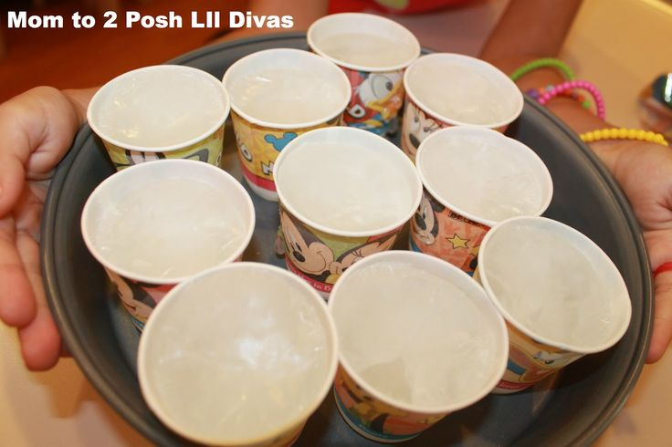 Mom to 2 Posh Lil Divas: What Melts Ice the Fastest? A Hands-on Science Experiment