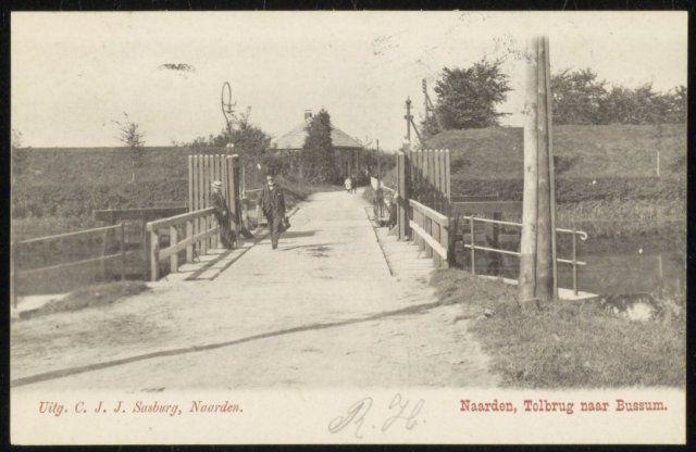 Tolbrug naar Bussum.