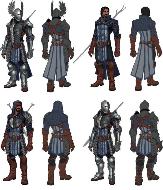 Grey Warden Fashion