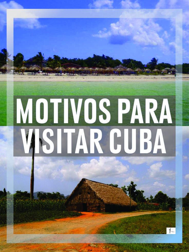 #cuba #roteiros #fotos #travel Cuba é na minha opinião, daqueles destinos incapazes de desiludir um viajante. Esta ilha do Mar das Caraíbas reúne todos os ingredientes para que uma viagem aqui realizada corra na perfeição. São muitos os motivos que existem para visitar Cuba, mas vou aqui enumerar 13 que, certamente farão parte dos mais importantes.