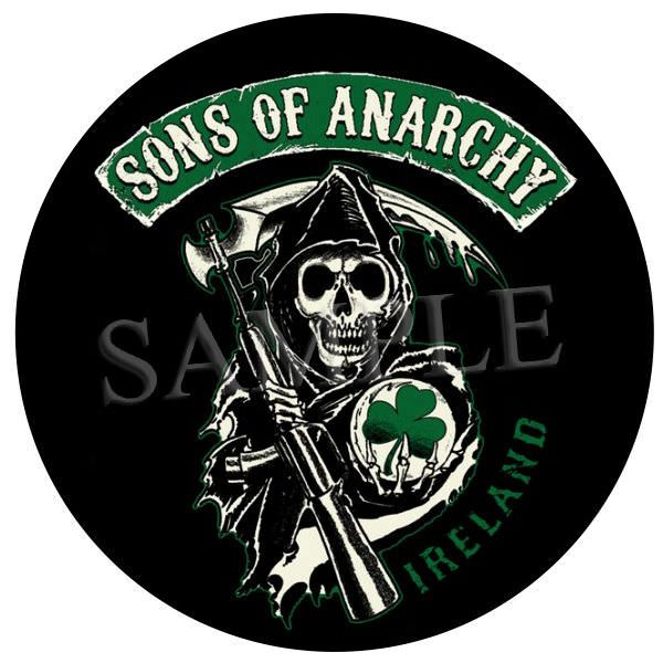 Sons of anarchy ireland 4 x 4 vinyl sticker car decal u k post