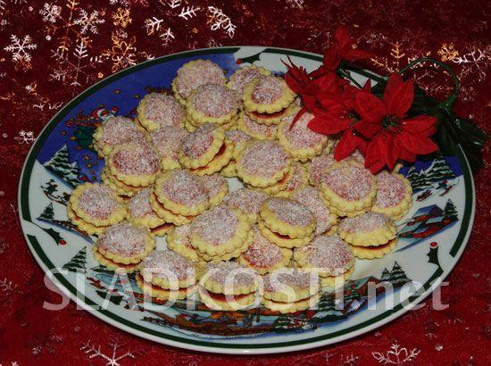 Kokosové dortíčky citrónové dia