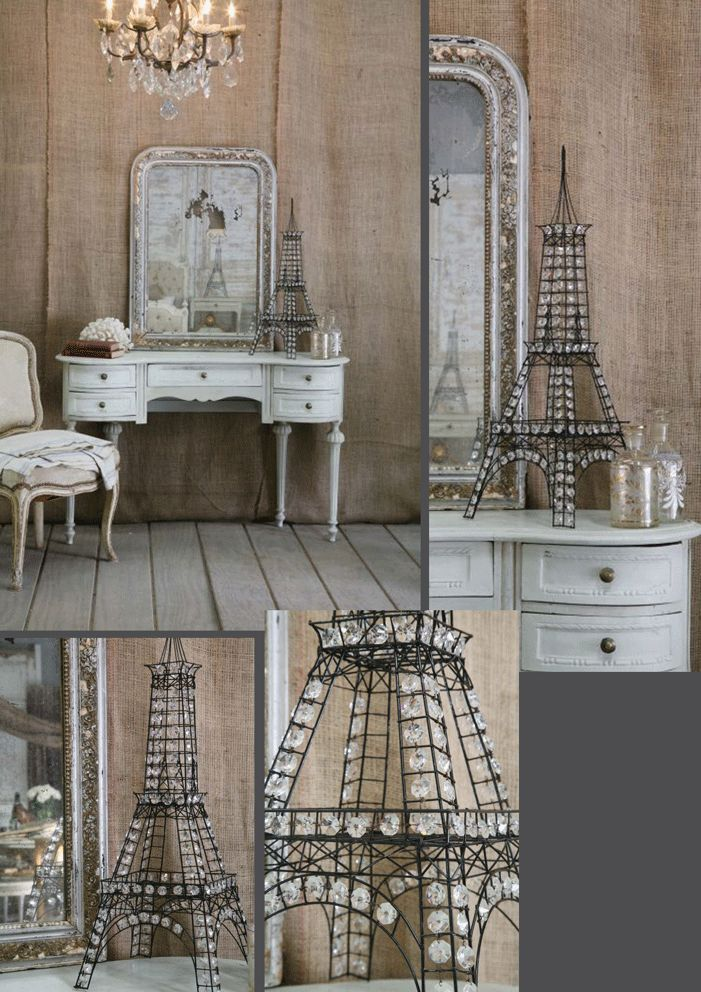 The perfect French themed room for my Paris loving Sammi.