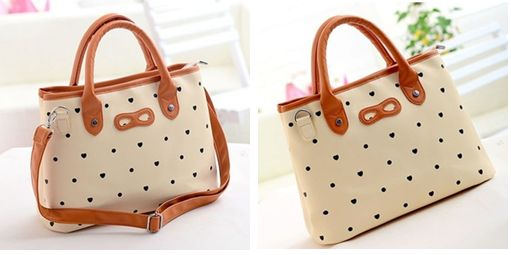 NEWNESS   B1: preppy style dot bowknot handbag shoulder bag   Price: $45 NZD  FB inbox or email us on pearla.boutique@hotmail.com xx