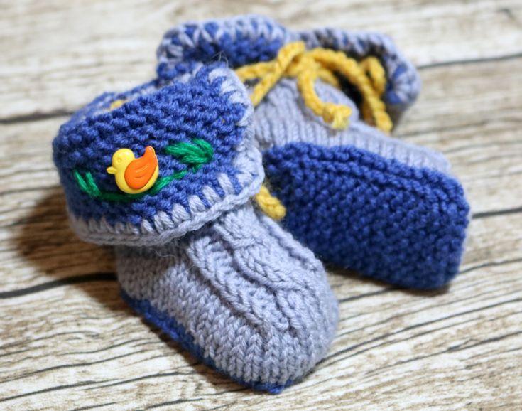 21 besten Babyschuhe Bilder auf Pinterest | Baby stricken ...