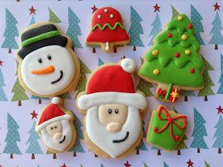 Natal 2013, cookies, biscoitos decorados   by Cookie Design