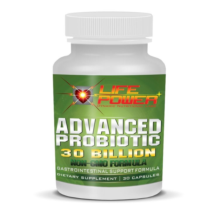 LifePower Labs-Advanced Probiotic Power 30 Billion+ Gastro-Intestinal Support Formula. Probiotics For Women, Men & Kids To Improve Digestion, Lose Weight & Increase Energy. 30 Day Supply. NON-GMO!