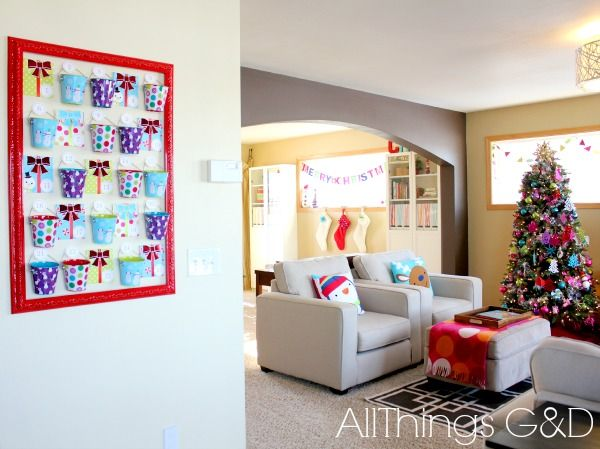 DIY Christmas Countdown Advent Calendar