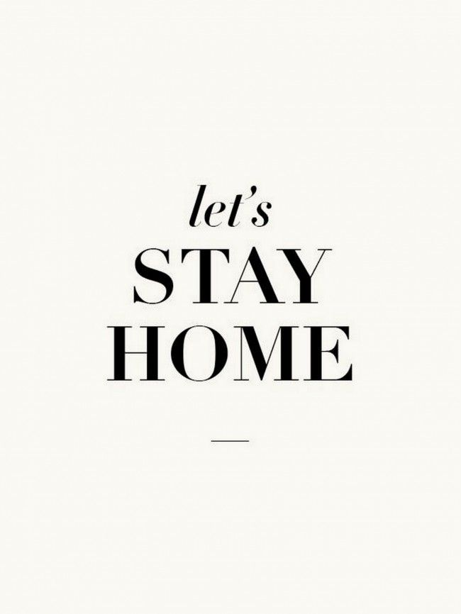 24 reasons to stay home