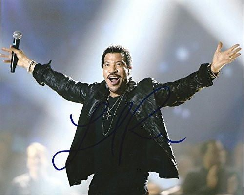 Lionel Richie, American Singer, Songwriter, Musician, Signed, Autographed, 8x10 Photo, a Coa with the Proof Photo of Lionel Signing Will Be Included. Star