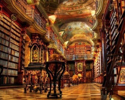 ImpressiveCzechrepublic, Dreams, Built In, Beautiful, Klementinum Libraries, Book, Prague Czech Republic, Places, The Beast