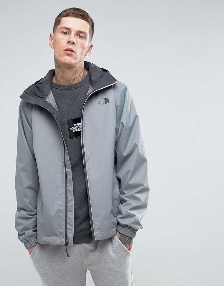 The North Face Quest Lightweight Waterproof Jacket in Gray - Gray