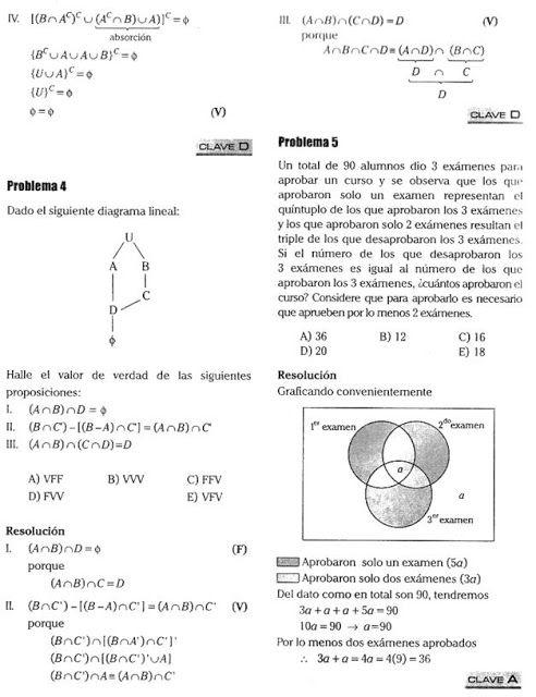 Problemas Resueltos Sobre Teoría De Conjuntos Blog Del Profe Alex Teoría De Conjuntos Ejercicios Resueltos Teoría