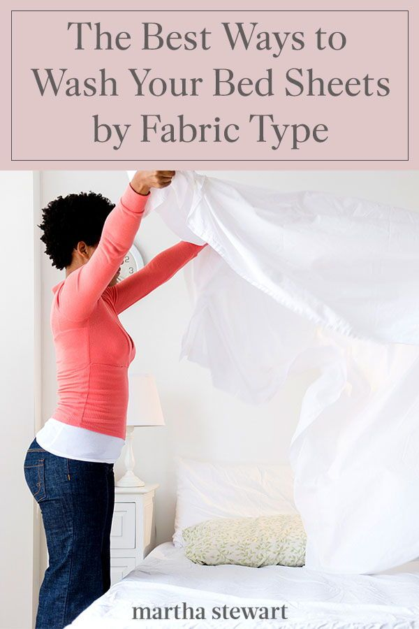 The Best Ways To Wash All Your Bed Sheets By Fabric Type Fabric
