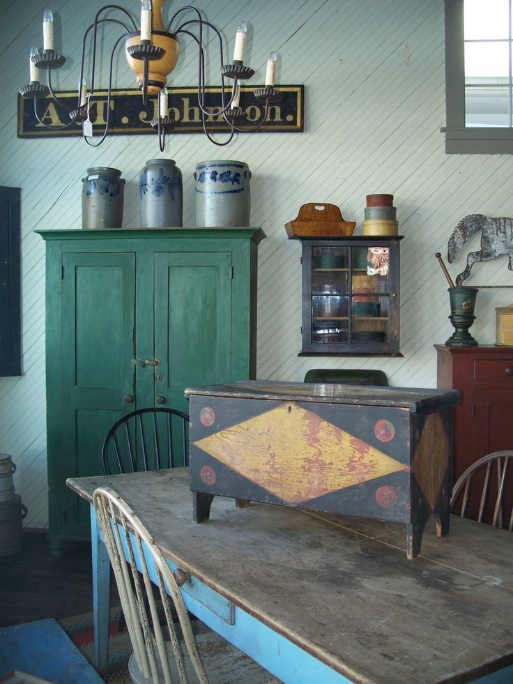 258 Best Images About Early American Kitchens Taverns On Pinterest Primitive Tables Early