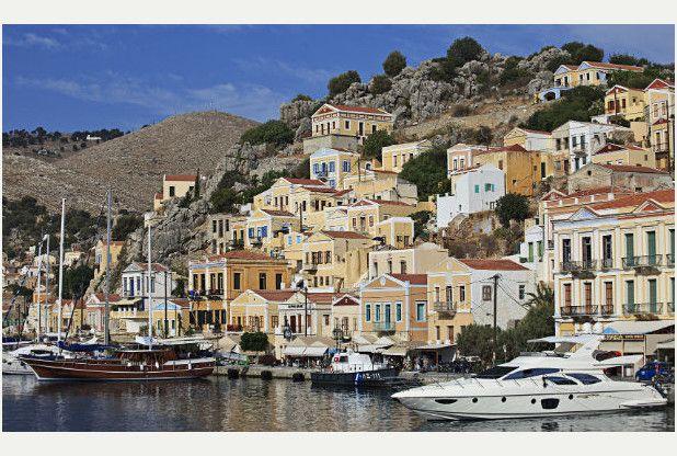 Symi, in Greece Photo: Jon Ryan