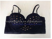 Ladies Sexy Hot Lingerie, black lace rhinestone polyester Bra Best Buy follow this link http://shopingayo.space