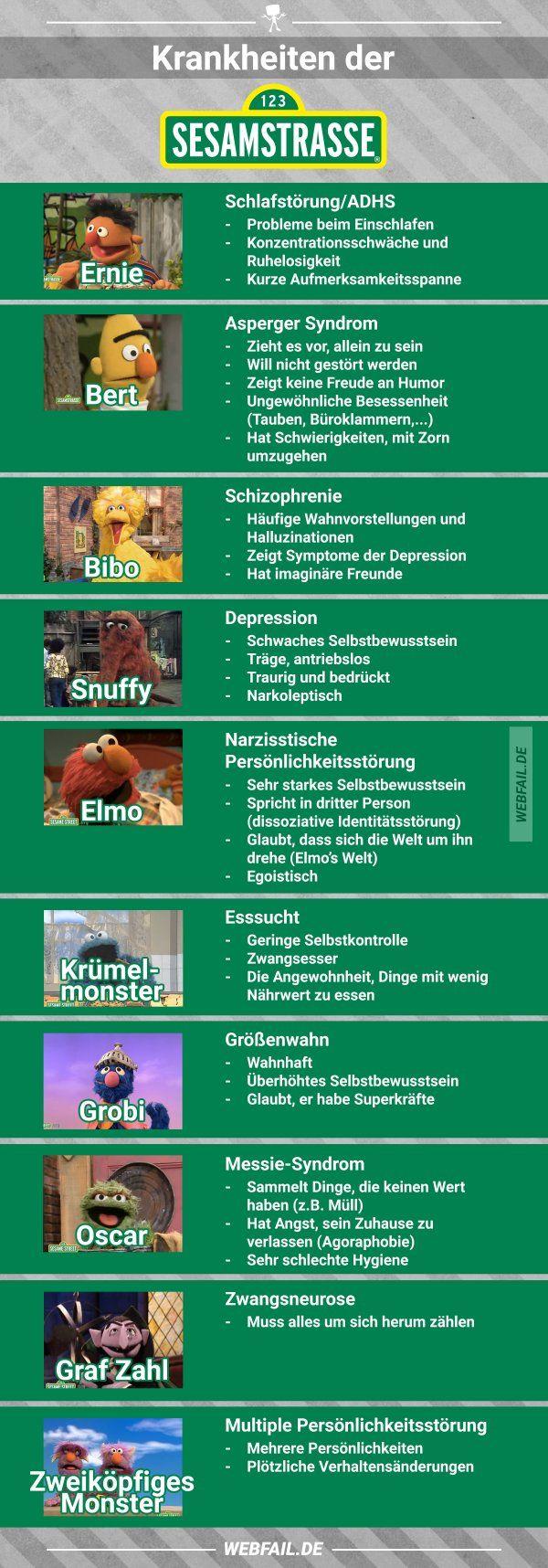 Die Krankheiten der Sesamstraße | Webfail - Fail Bilder und Fail Videos