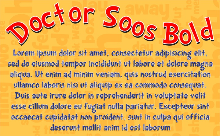Dr Seuss Free Font Download Dr Soos | Trent's First ...