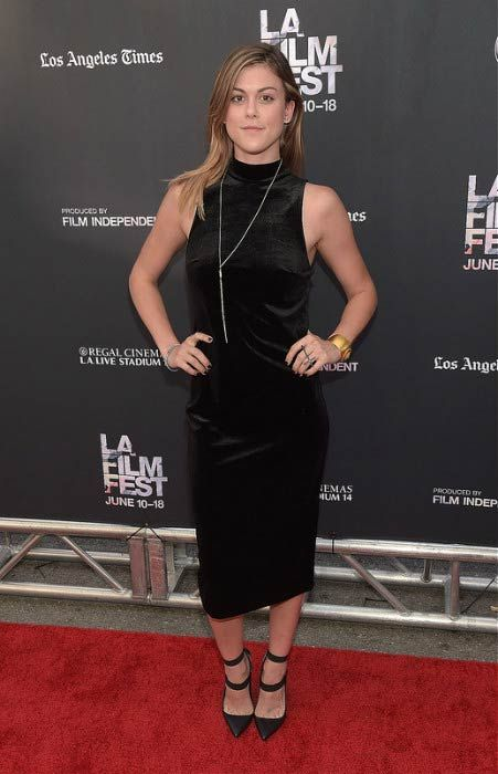 """Lindsey Shaw at the premiere of MTV and Dimension TV's """"Scream"""" in June 2015..."""