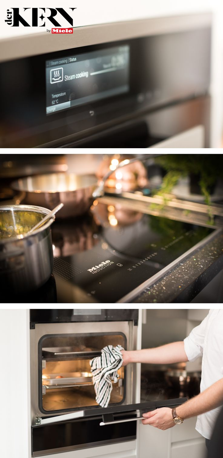 Miele's Executive Chef, owner of Hardley Hill Farm, and MasterChef: The Professionals Finalist Sven-Hanson Britt had a wishlist of Miele appliances he wanted to have in his kitchen at home. Head to our blog Der Kern to hear about his must have choices, including an induction hob and a steam combination oven