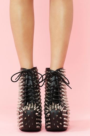 I have a serious weakness for Jeffrey Campbell shoes