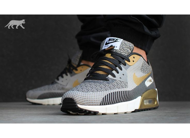 Nike Air Max 90 Jacquard PRM QS *Gold Hypervenom Collection* (ivory /  metallic