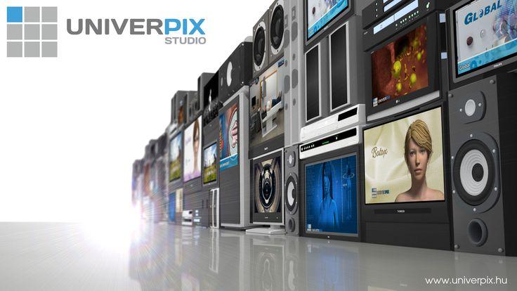 Univerpix Studio - Weblap készítés, 3D animáció, Grafika
